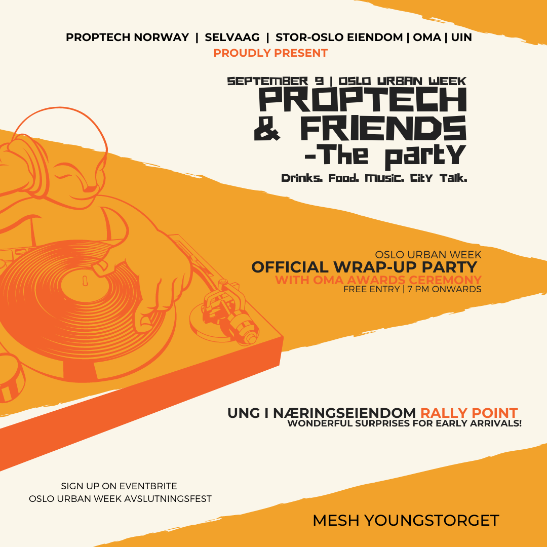 Proptech & Friends: The Party